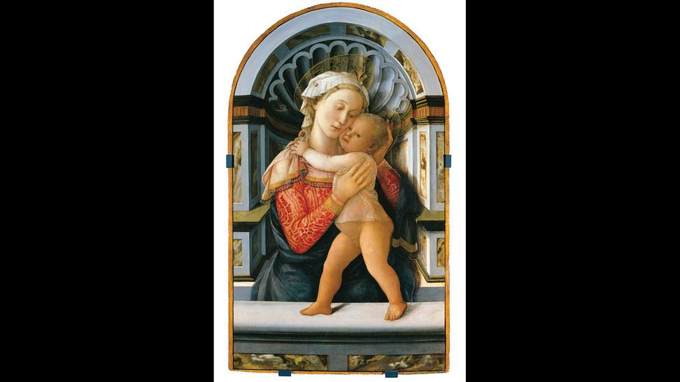 伊丽莎贝塔席贝妮 《圣母子》(1663年)席贝妮是意大利巴洛克时期唯一著名的女画家和雕刻家。由于当时的性别限制,她不能进入专业艺术学院学习,只能师从父亲。她在艺术方面的惊人天赋很快就得到了社会的承认,并在17岁时开设了自己的工作室。27岁去世时,已经创作了170幅油画和14幅版画。