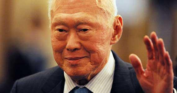 新加坡国父李光耀 - 静远山人 - 静远山人