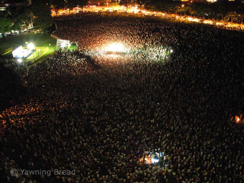 上圖:工人黨集會。(攝影:Alex Au)