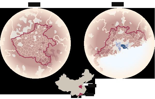 数据:中国劳动力迁徙趋势 - 舜筌 - 微尘舜筌