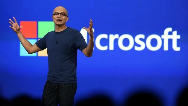 微软和Facebook宣布实现男女员工同工同酬的照片